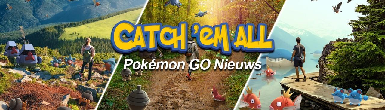 Catch 'Em All - Pokémon GO Nieuws